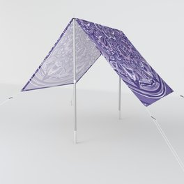 Great Purple Mandala Sun Shade