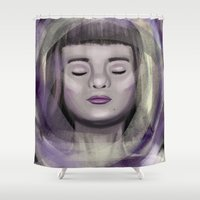 ace Shower Curtains featuring Ace by erikakettle