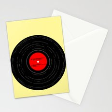 Born to Run Vinyl Stationery Cards