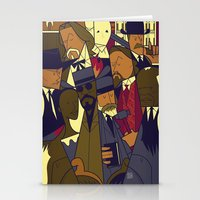 django Stationery Cards featuring Django Unchained by Ale Giorgini