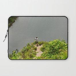 Lake Açores Laptop Sleeve