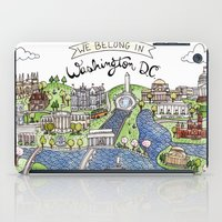 dc iPad Cases featuring Washington DC by Brooke Weeber