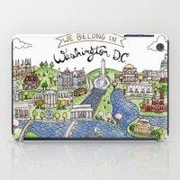washington dc iPad Cases featuring Washington DC by Brooke Weeber