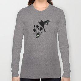 Ohio - State Papercut Print Long Sleeve T-shirt