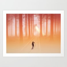 Where Light Never Ends Art Print