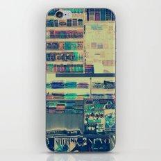kiosk iPhone & iPod Skin