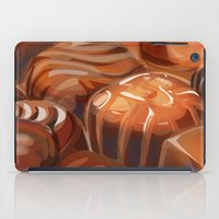 chocolate iPad Cases featuring Chocolate by Amalia-Anne