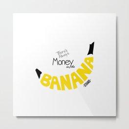 Banana Stand Metal Print
