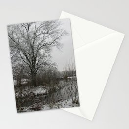 Light Dusting Stationery Cards