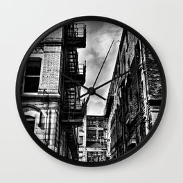 Northern Quarter MANchester Wall Clock