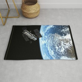 NASA Hubble Space Telescope Poster - The NASA / ESA Hubble Space Telescope Rug