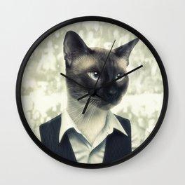 Fancy Cat Wall Clock