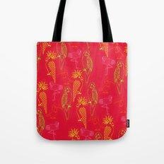 Tropical Birds - Summer School Tote Bag