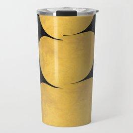 Gold ovals Travel Mug