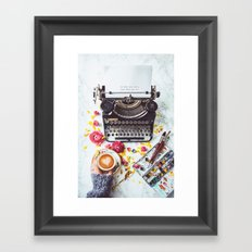 Do what you Love. Framed Art Print