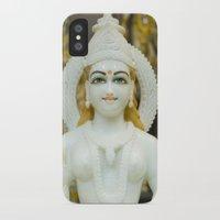 hindu iPhone & iPod Cases featuring Lakshmi-Hindu Goddess in India by The Photo Buddha