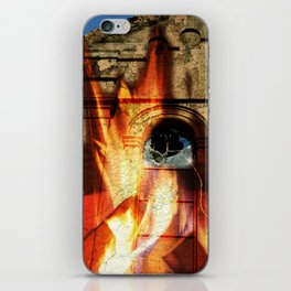 Burning Down the House  iPhone Skin