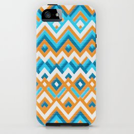 Chevrons for Summer iPhone Case