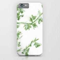 Summer Leaves Slim Case iPhone 6s
