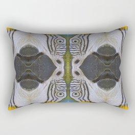 Parrot collage Rectangular Pillow