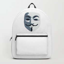 Anonymous Mask #society6 #decor #buyart #artprint Backpack