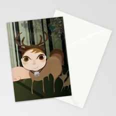 Deery Fairy in the Forest Stationery Cards