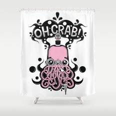 Oh Crab! (patterned) Shower Curtain