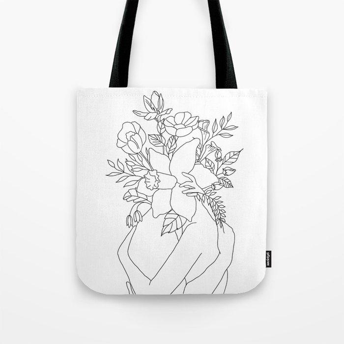 Blossom Hug Umhängetasche