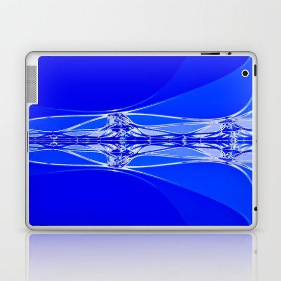 Blue Abstract Laptop & iPad Skin