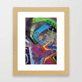 Color Entropy II Framed Art Print