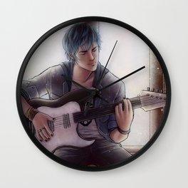 Luka - Blue Wall Clock
