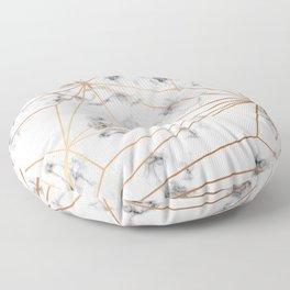 Marble & Gold 046 Floor Pillow