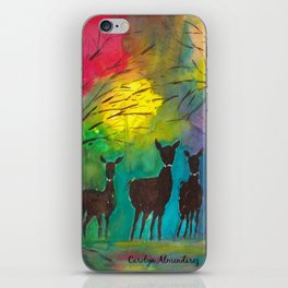 Deer in the Forest iPhone Skin