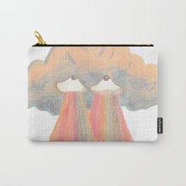 Cloud pink Carry-All Pouch