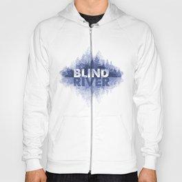 Blind River Trees (blue) Hoody