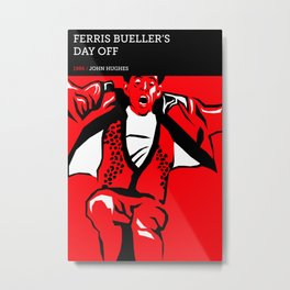 Ferris Bueller's Day Off Metal Print