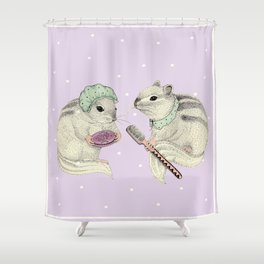 Couple of squirrels Shower Curtain