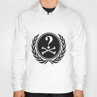 community Hoodies featuring Anonymous community by Komrod
