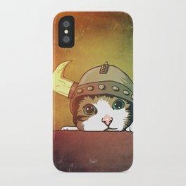 Viking Kitty iPhone Case