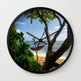Bikini Beach  Wall Clock