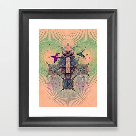 The Hummingbird Dimension Framed Art Print