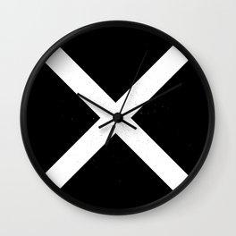 (CROSS) (BLACK & WHITE) Wall Clock