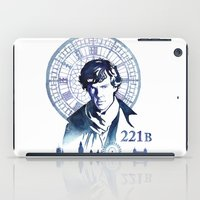 sherlock iPad Cases featuring Sherlock by Jackie Sullivan
