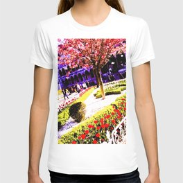 Intense and living colors. T-shirt