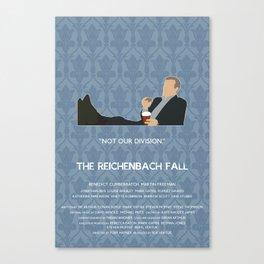 The Reichenbach Fall - Greg Lestrade Canvas Print