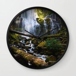 Lower Proxy Falls Wall Clock