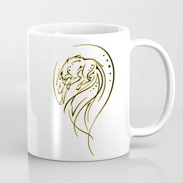 Tribal Fox Coffee Mug
