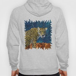 Leopard with the Sky in His Eyes Hoody