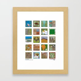 Go Outside - Selections from the 2011 Project Framed Art Print