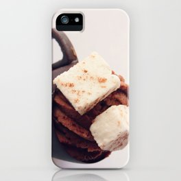 Hot Chocolate Mousse iPhone Case